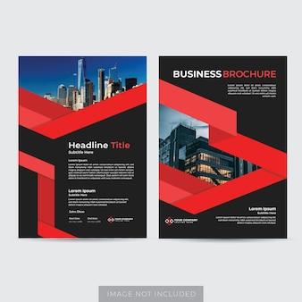 Szablon układu broszury biznesowej