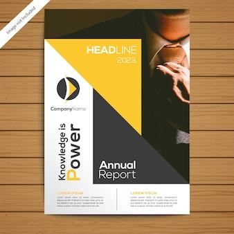 Szablon ulotki broszury firmowej