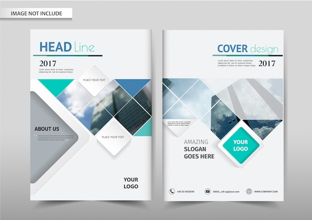 Szablon ulotki broszury