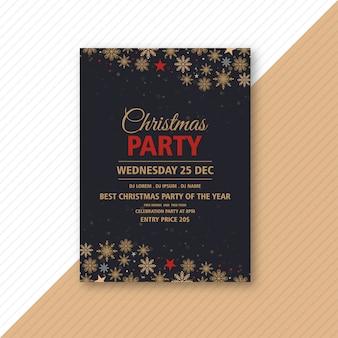 Szablon ulotki imprezy świąteczne