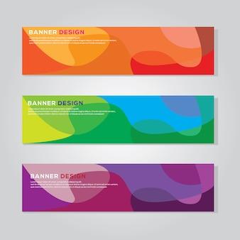 Szablon wektor kolorowy transparent tło