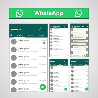 Szablon whatsapp