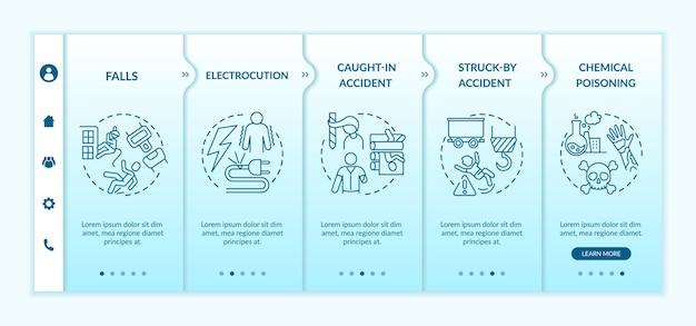 Szablon wprowadzania informacji o wypadkach przy pracy