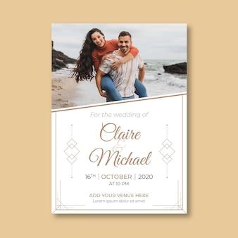 Szablon zaproszenia do zaręczyn