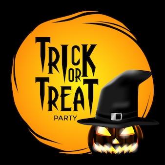 Szablon zaproszenia halloween party