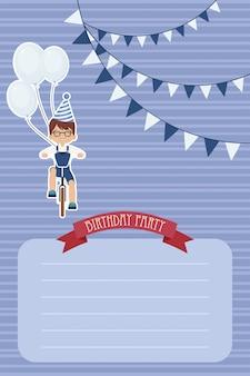 Szablon zaproszenia na urodziny
