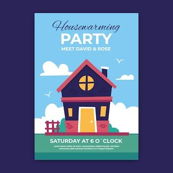 Szablon zaproszenia party parapetówkę