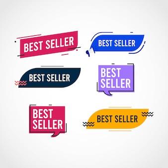 Szablon zestawu najlepiej sprzedających się tagów.
