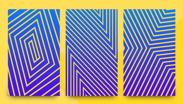 Szablony abstrakcyjne elegancki wzór tła