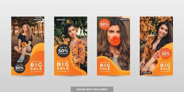 Szablony bannerów promocyjnych w mediach społecznościowych