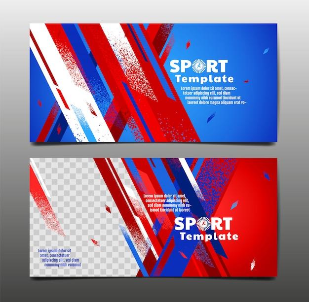 Szablony bannerów sportowych