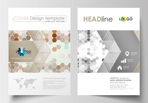 Szablony biznesowe dla broszury, czasopisma, ulotki, broszury