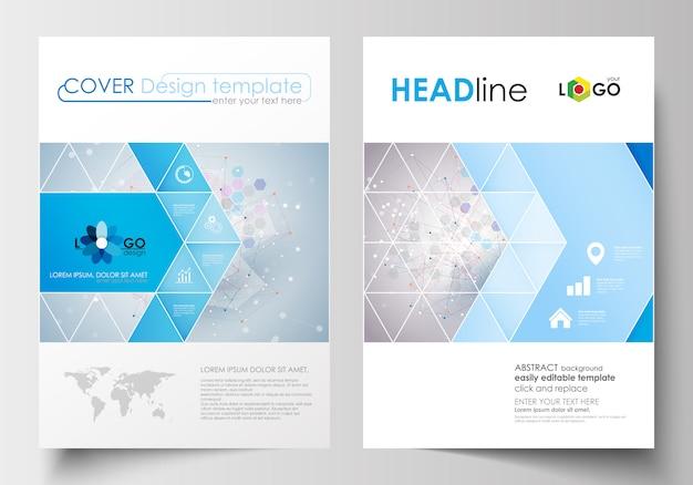 Szablony biznesowe dla broszury