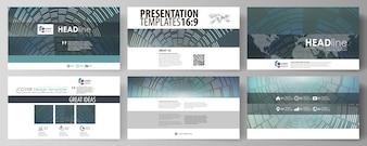 Szablony biznesowe w formacie HD do prezentacji slajdów