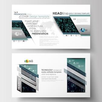 Szablony biznesowe w rozmiarze hd do prezentacji slajdów