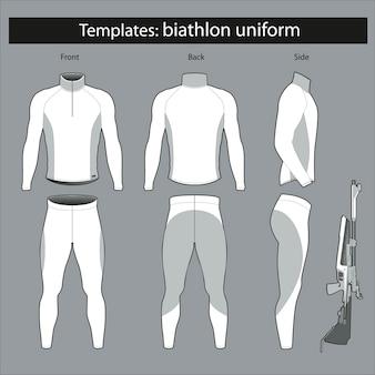 Szablony: forma biathlonistyczna