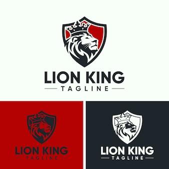 Szablony kreatywnych lew logo