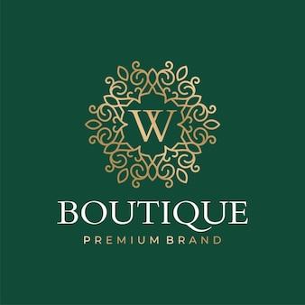 Szablony logo butiku luksusowego