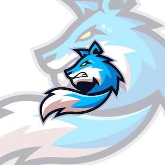 Szablony logo fox esports