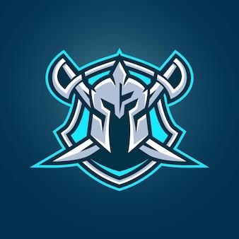 Szablony Logo Knight Esports Premium Wektorów