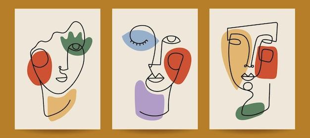 Szablony okładek sztuki współczesnej ilustracja wektorowa