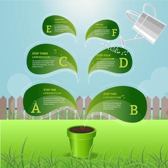 Szablony plansza drzewo dla edukacji.