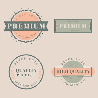 Szablony projektów logo