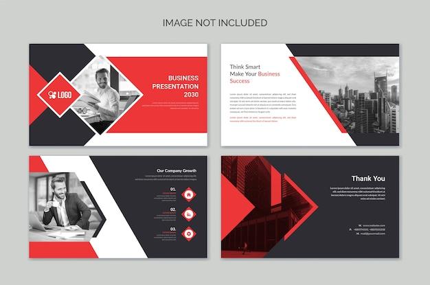 Szablony slajdów prezentacji powerpoint business