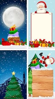 Szablony z motywem świątecznym