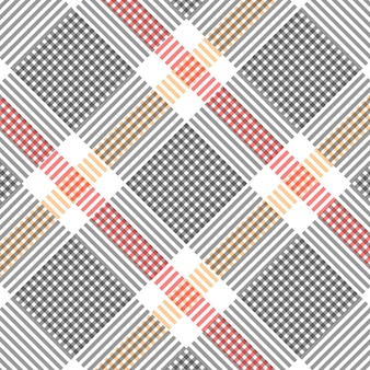Szachownica wzór czerwony żółty czarno-biała kratka wzór tła ilustracji wektorowych