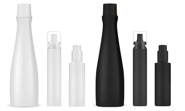 Szampon kosmetyczny, rozpylacz. butelka z pompką dozującą