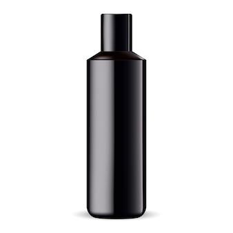 Szampon lub żel pod prysznic szablon produktu na białym tle
