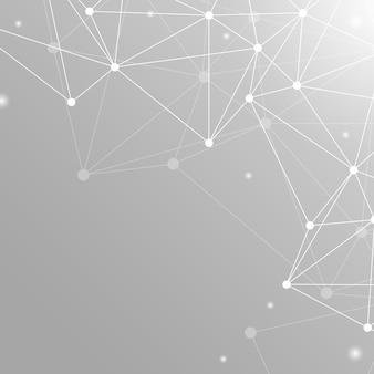 Szara sieć neuronowa ilustracja
