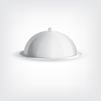 Szara taca na naczynia