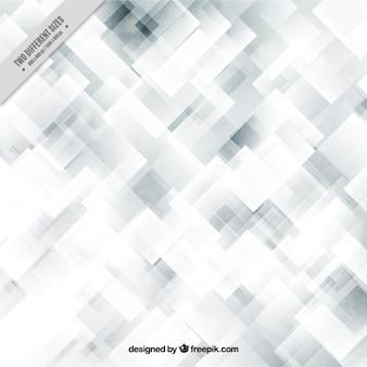 Szare i białe tło z abstrakcyjne kwadraty