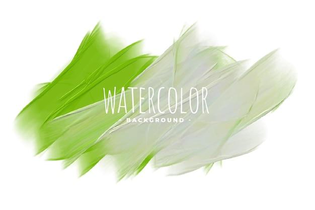 Szare i zielone tło tekstury akwareli