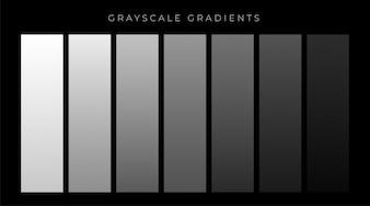 Szare odcienie gradienty ustawić tło
