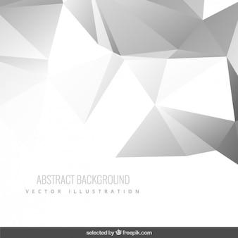 Szare tło abstrakcyjna wielokąta
