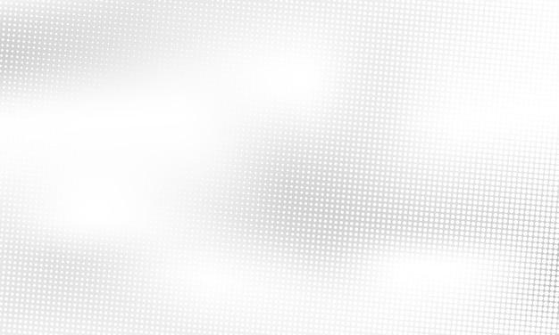 Szaro-białe tło z abstrakcyjnymi falami na plakaty - baner