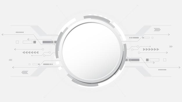 Szarość, biały, abstrakcyjny, technologia, hi tech, połączenie cyfrowe.