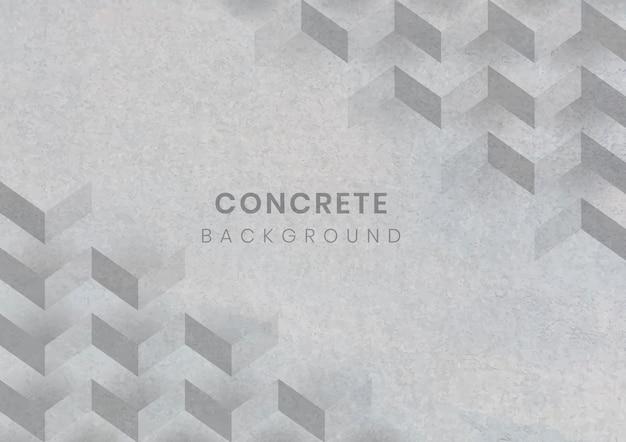 Szary 3d geometryczne nowoczesne tło