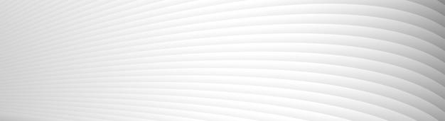 Szary biały fala linie wzór tła