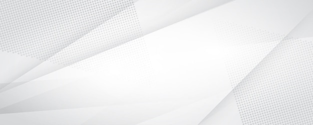 Szary biały streszczenie tło nowoczesny design copyspace dla tekstu