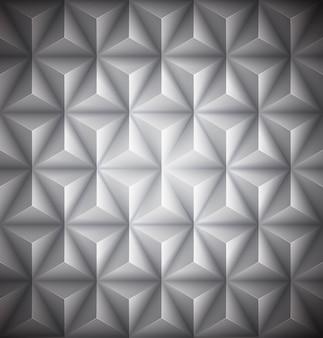 Szary geometryczne streszczenie tło low-poly papieru.