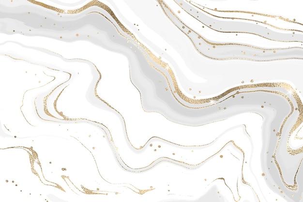 Szary płynny marmurkowy tło akwarela