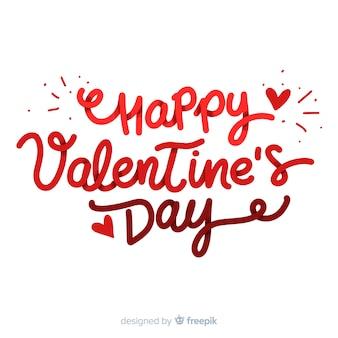 Szczęśliwe Walentynki napis
