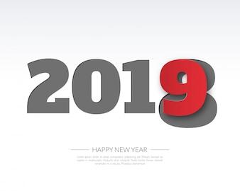 Szczęśliwego nowego 2019 roku.