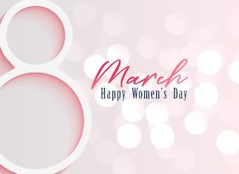 Szczęśliwy dzień kobiet obchody tło
