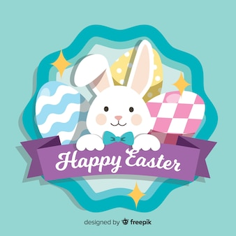 Szczęśliwy Easter dnia tło