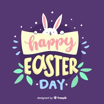 Szczęśliwy tło Wielkanoc dzień